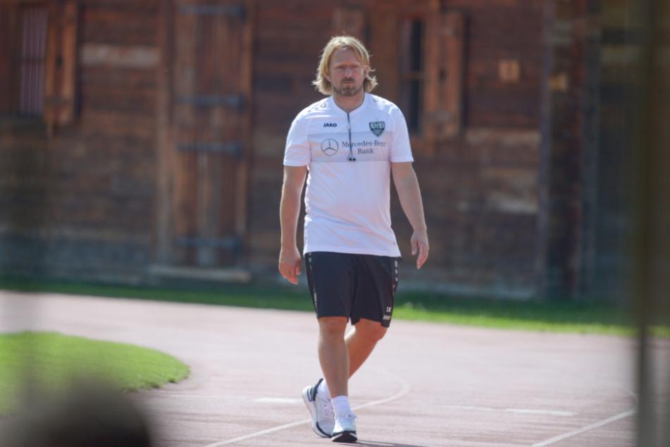 Ist mit der Entwicklung des VfB Stuttgart zufrieden: Sportdirektor Sven Mislintat (47).