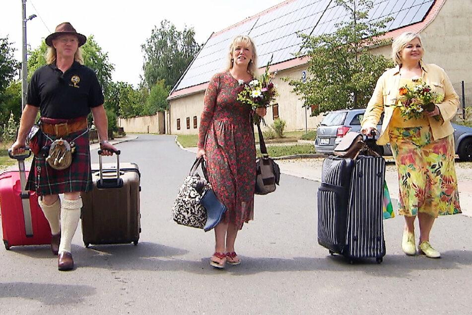 Bauer sucht Frau: Sachse Lutz begrüßt Damen, doch nur eine darf zur Hofwoche bleiben