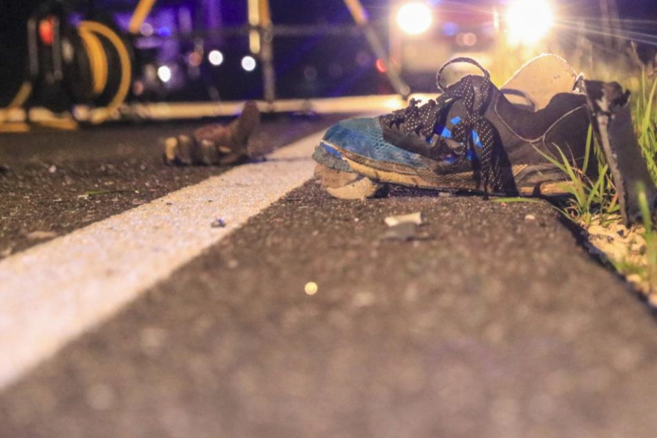 Schwerer Unfall: BMW kracht bei Überholmanöver in Motorrad