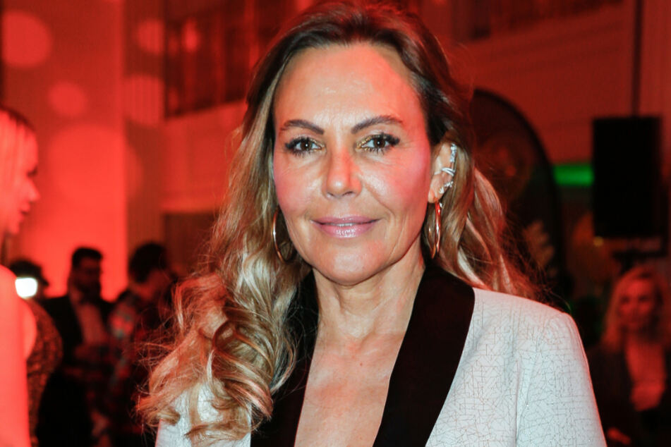 """Natascha Ochsenknecht auf der Party von """"Movie Meets Media"""" im Hotel Adlon."""