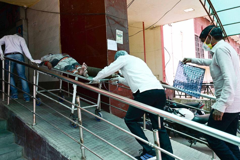 In Indien herrscht derzeit das blanke Chaos.