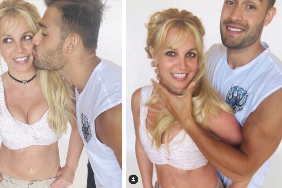 Britney Spears is back on Instagram but something seems off about her latest post