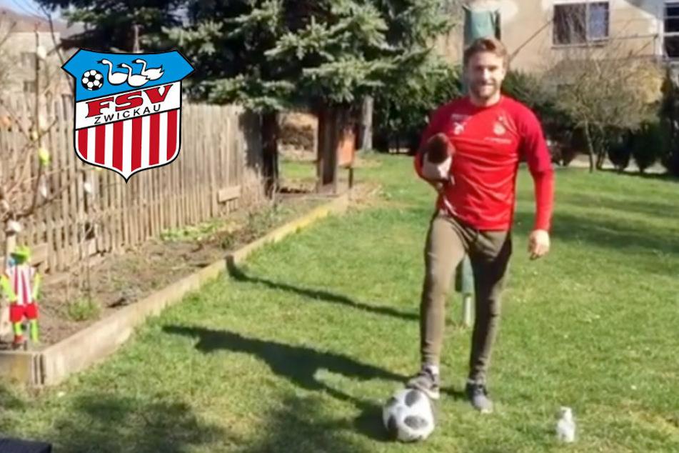 """FSV-Mittelfeldmann Könnecke mit """"Stay-at-home""""-Botschaft"""