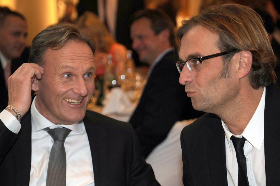 Echte Liebe seit 2008. BVB-Boss Hans-Joachim Watzke (61) und Jürgen Klopp.