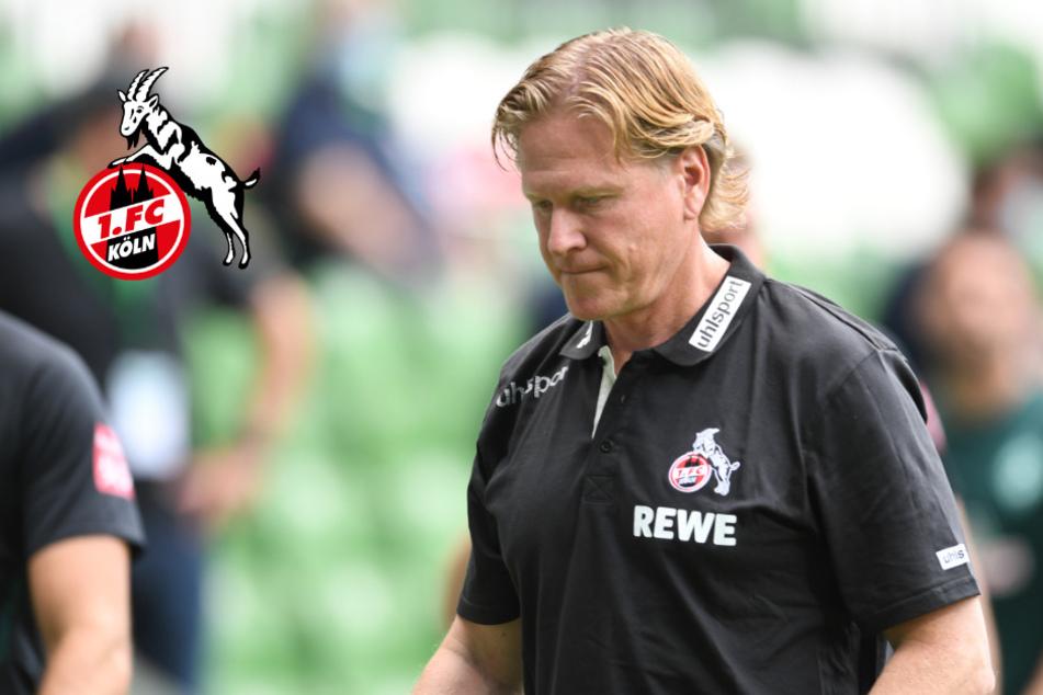 """Köln-Trainer Gisdol nach 1:6: """"Die Mannschaft braucht dringend eine Pause"""""""