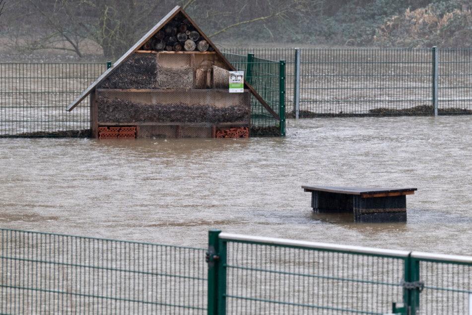 Hochwasser in Hessen: Zittern vor der nächsten Welle