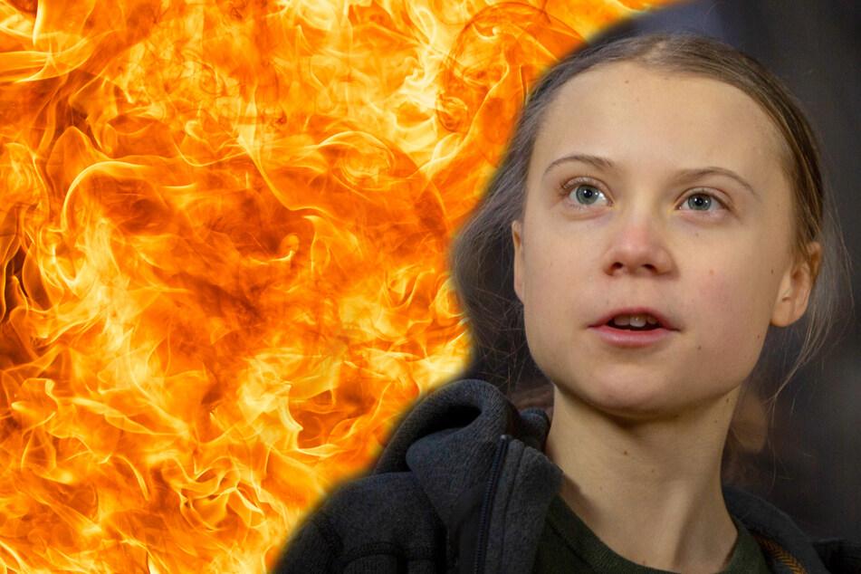 In Indien werden Bilder von Greta Thunberg verbrannt: Was steckt dahinter?
