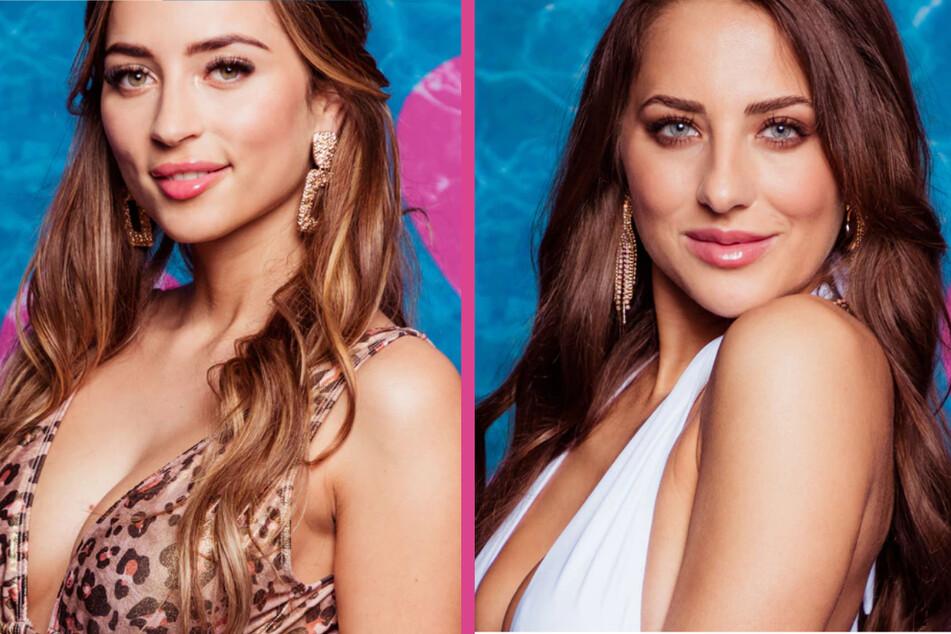 """Die """"Love Island""""-Kandidatinnen Bianca (23, l) und Livia (27). (Fotomontage)"""