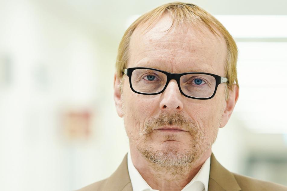 Gerhard Gründer, Leiter der Abteilung für Molekulares Neuroimaging am Zentralinstitut für Seelische Gesundheit.
