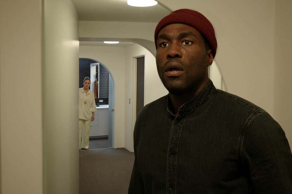 Yahya Abdul-Mateen plays Anthony McCoy, a visual artist with a strange connection to the Candyman legend, in the upcoming horror film.