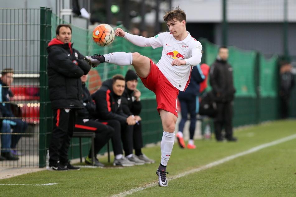 Anthony Barylla wurde im Nachwuchs bei RB Leipzig ausgebildet.