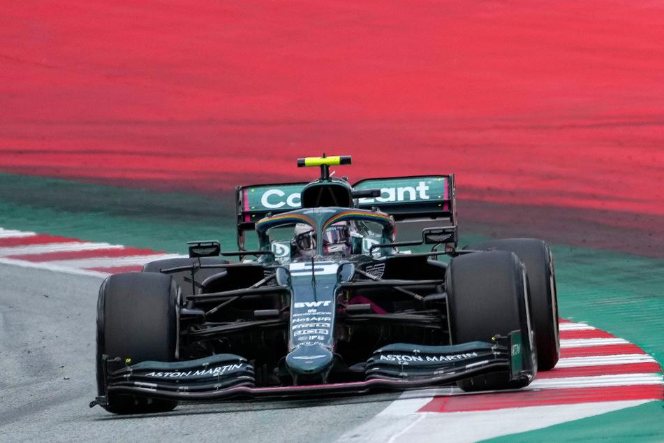 Für Sebastian Vettel bleibt die Saison zäh.