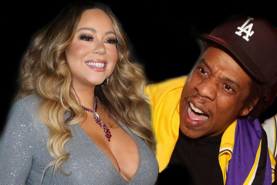 "Mariah Carey responds to rumors of ""blazing row"" with Jay-Z"