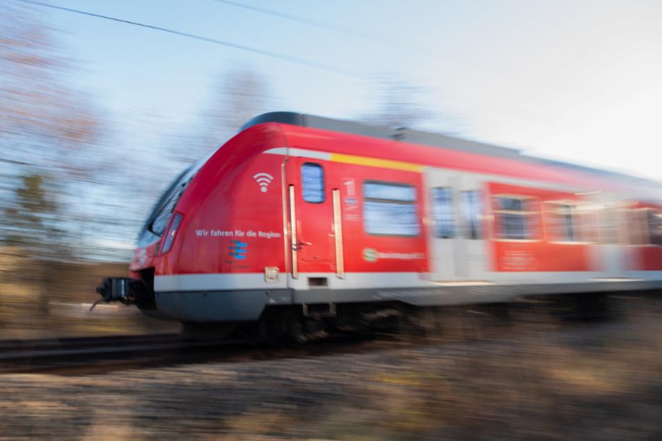 Der Lokführer der S-Bahn konnte seinen Zug noch rechtzeitig bremsen. (Symbolbild)
