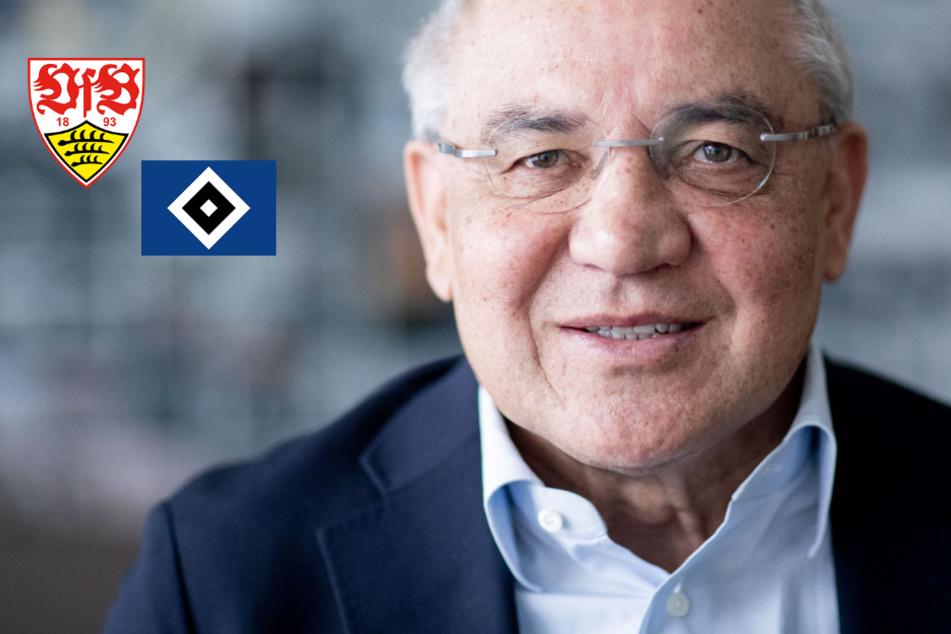 """Felix Magath hält Aufstiegsrennen zwischen VfB und HSV für reine """"Nervensache"""""""