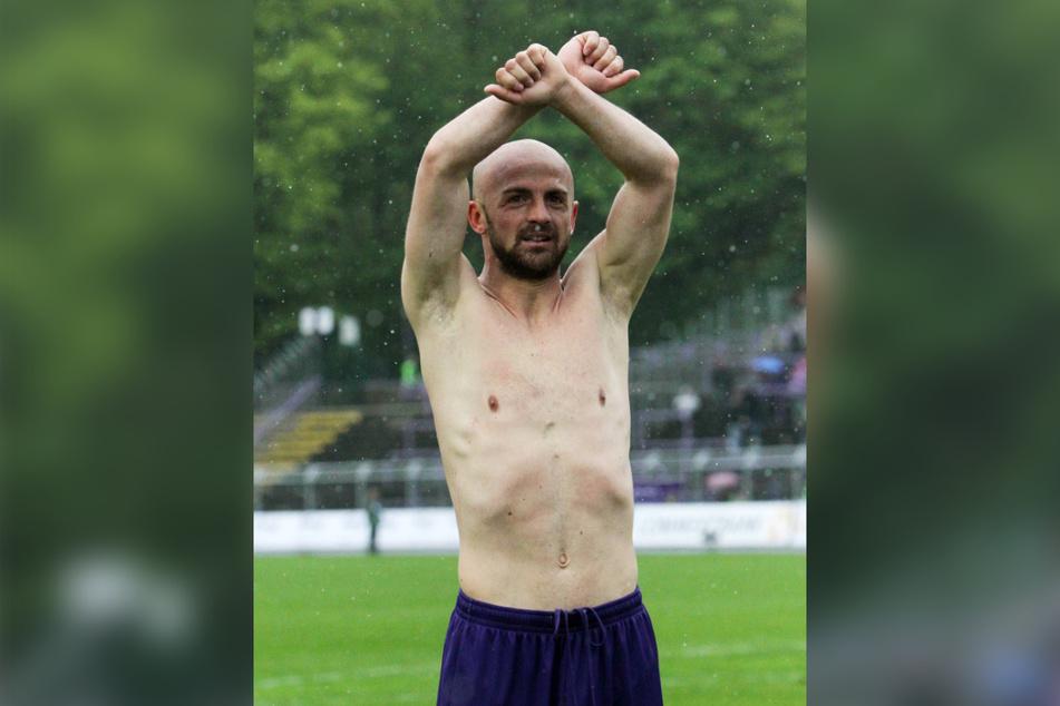 Skerdilaid Curri war auch bei seinem letzten Profispiel im Alter von 37 Jahren noch fit wie ein Turnschuh.
