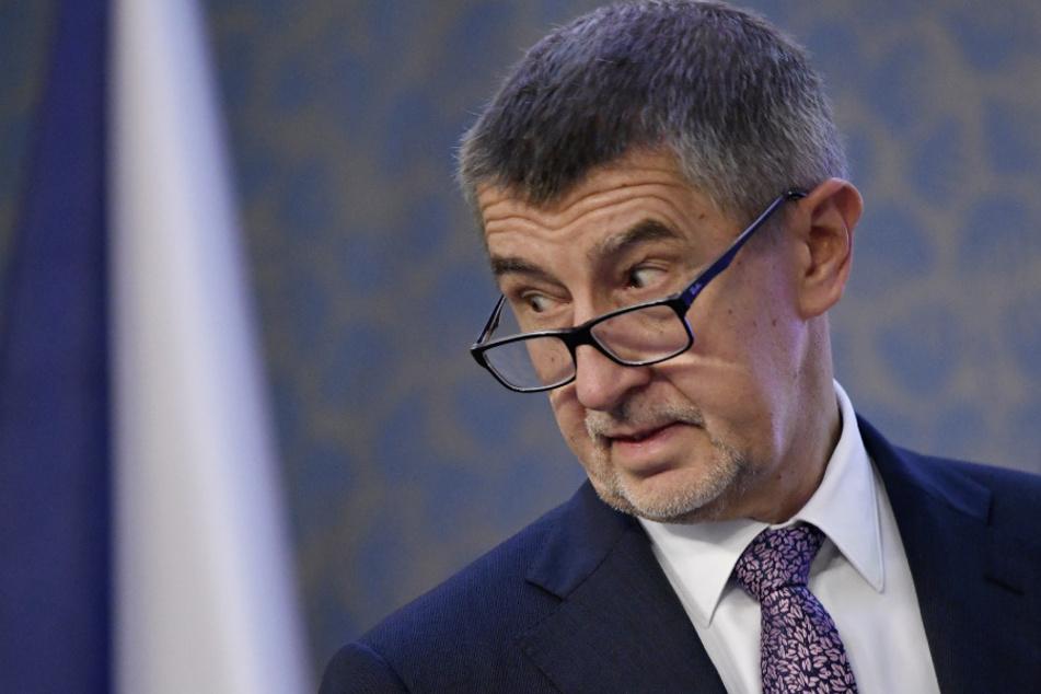 Regierungschef und Multimilliardär Andrej Babis (65). (Archivbild)