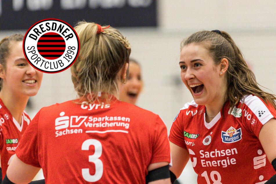 DSC gewinnt bei Schlusslicht Erfurt im Schnelldurchgang!