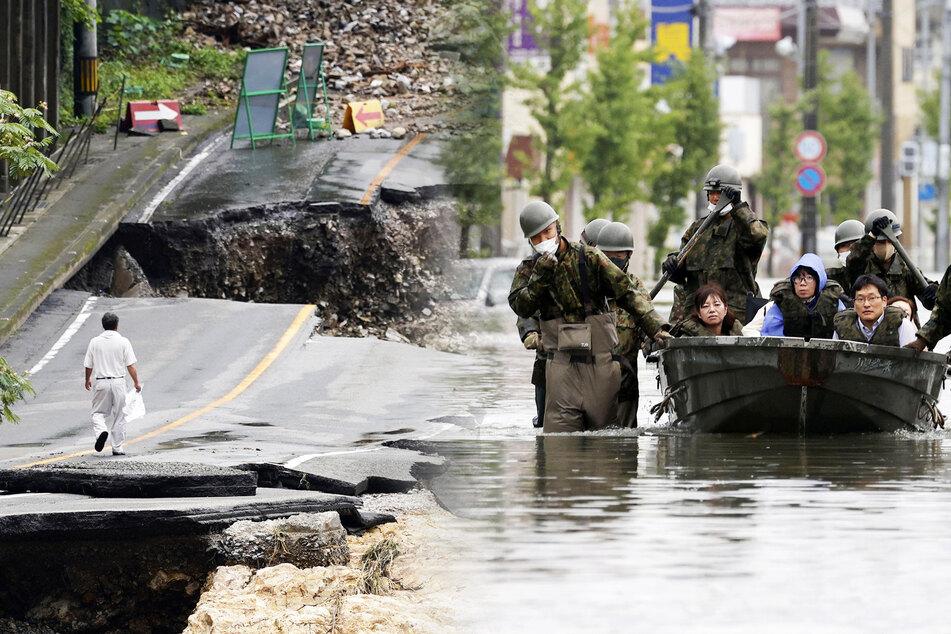 Heftige Unwetter fordern mindestens 50 Todesopfer