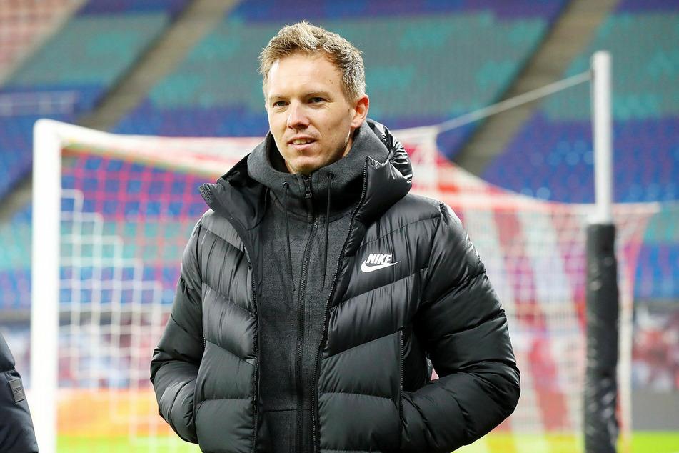 Wagt keine Experimente und will sein letztes Auswärtsspiel bei Borussia Dortmund mit RB Leipzig siegreich gestalten: Trainer Julian Nagelsmann (33).