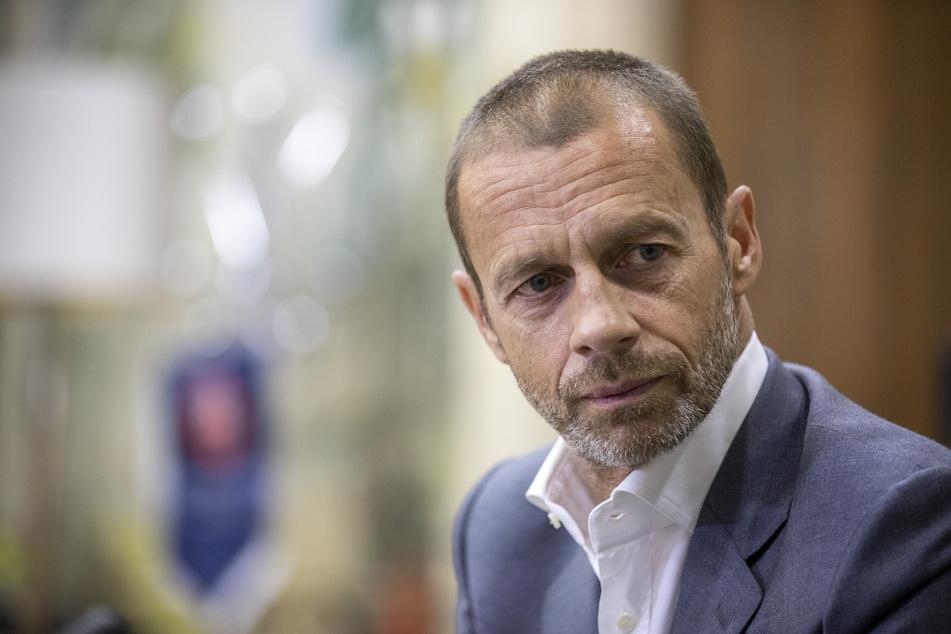 Betonte mehrfach, nichts von einer Superliga wissen zu wollen: UEFA-Präsident Aleksandar Ceferin (53).