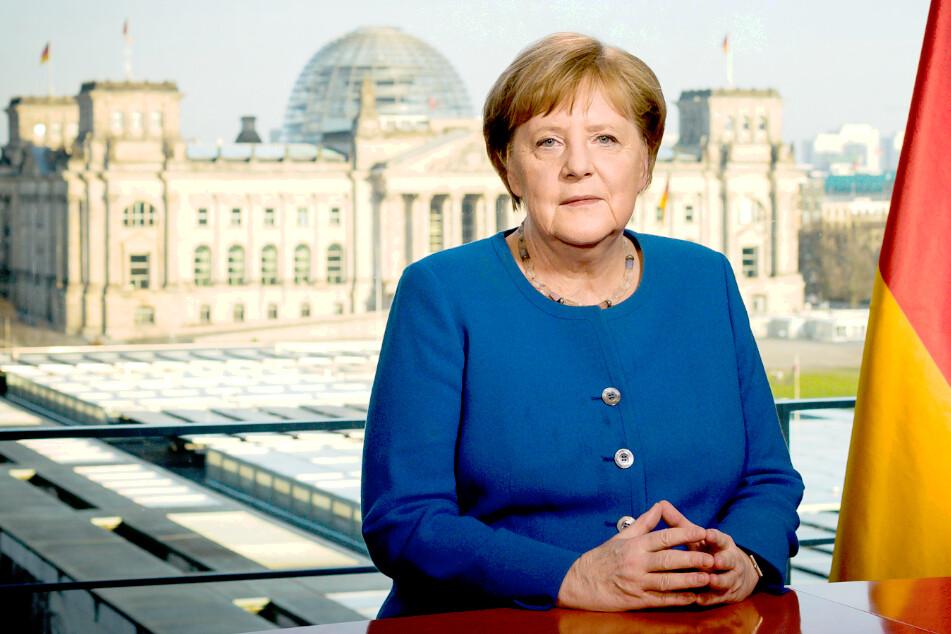 """Angela Merkel richtet sich in Corona-Krise an das Volk: """"Es ist ernst. Nehmen Sie es auch ernst!"""""""