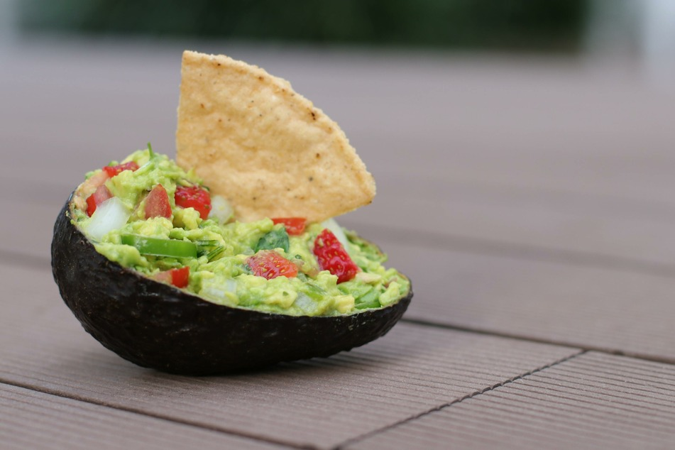 Ripe avocados make the best guacamole.