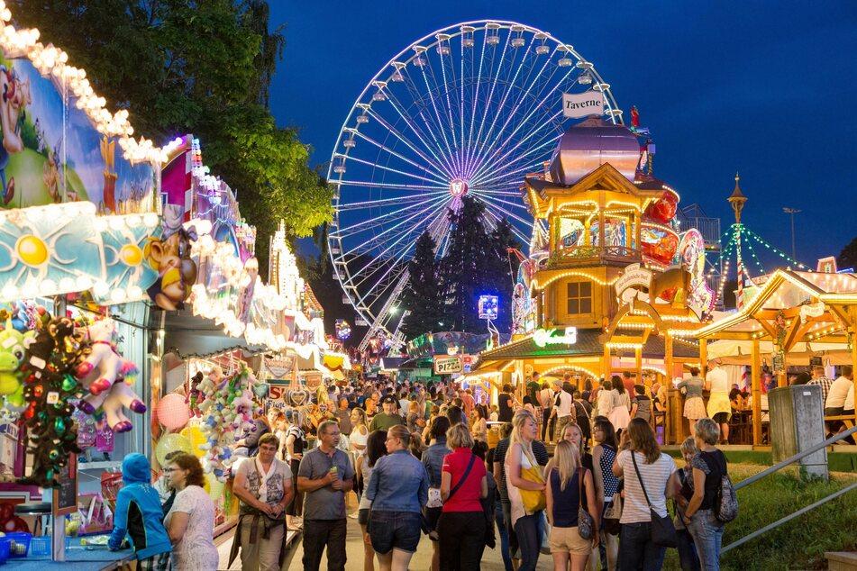 Am 12. Juni wäre die Jubiläums-Kät in Annaberg gestartet. Doch das größte Volksfest Sachsens musste coronabedingt abgesagt werden (Archivbild).