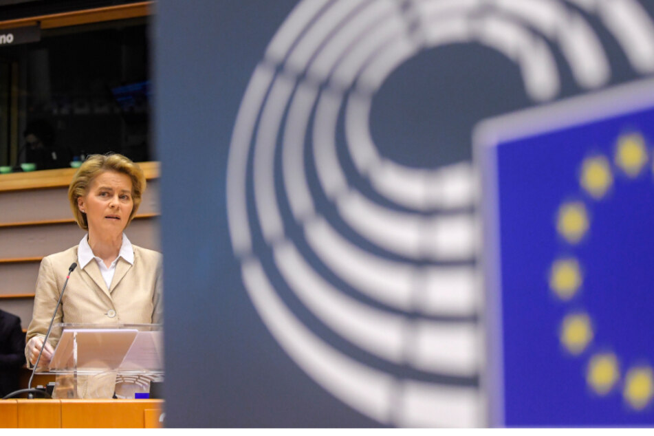 EU-Kommissionschefin Ursula von der Leyen (61).