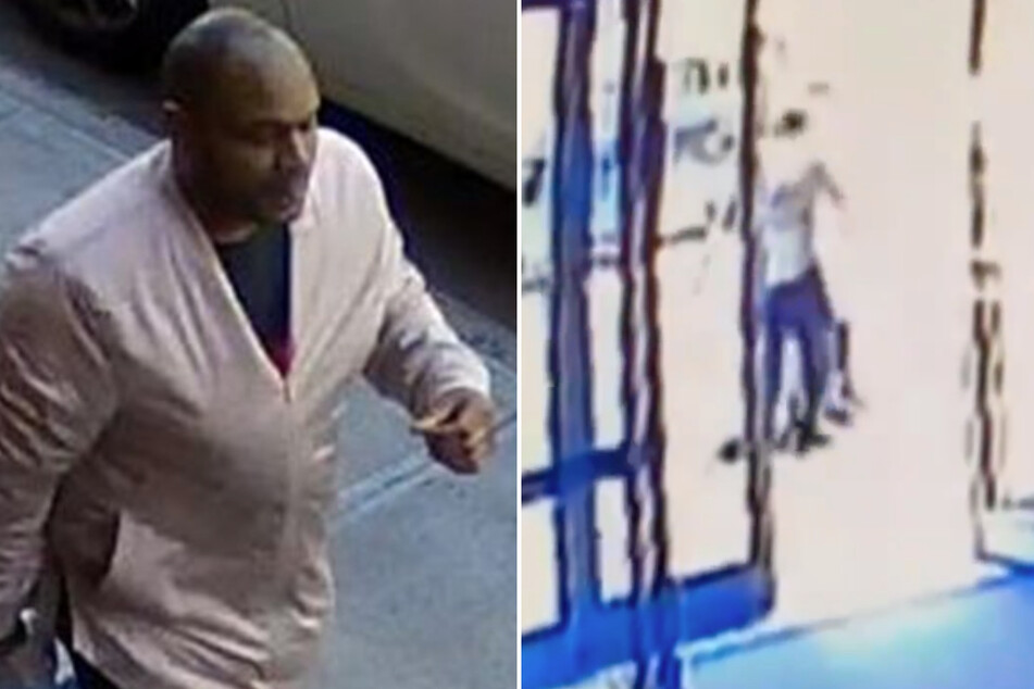 NYPD tweeted photos of the person suspected to have perpetrated the brutal attack.