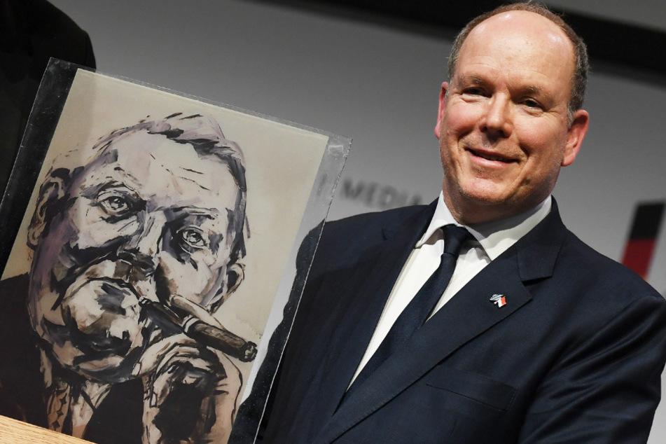 Fürst Albert II. von Monaco (62).