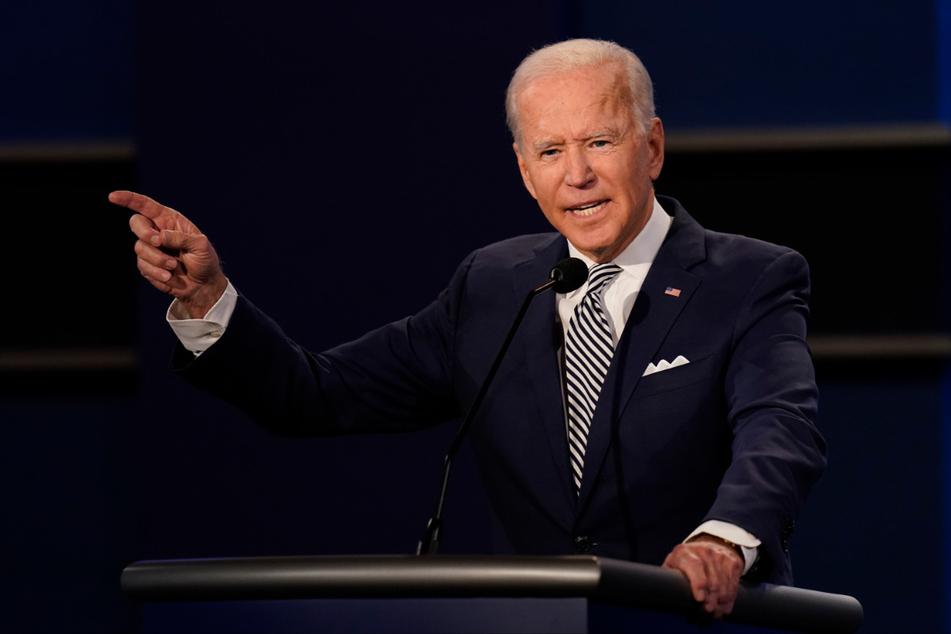 Joe Biden (77) ist der Präsidentschaftskandidat der Demokraten.