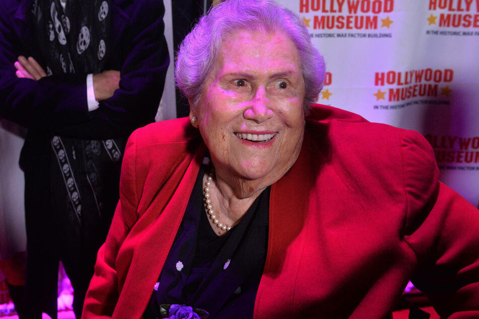 The actor Elsa Raven, known for supporting roles in Back to the Future and Titanic, has died (archive picture).