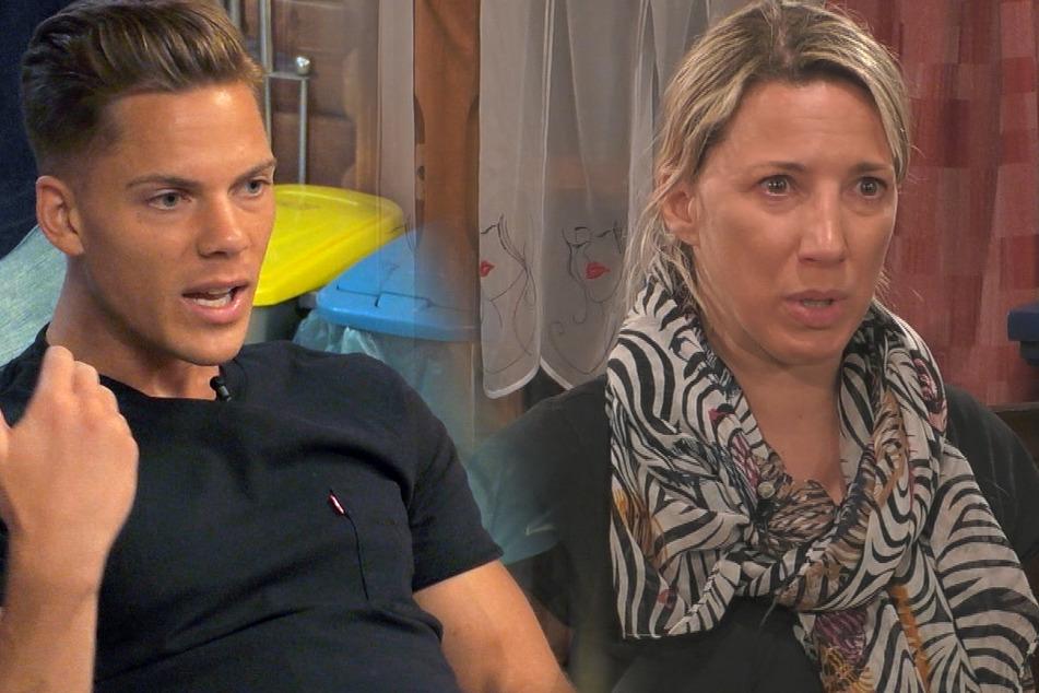 Cedric (26) und Romana (40) hat es getroffen: Sie stehen auf der Exit-Liste.