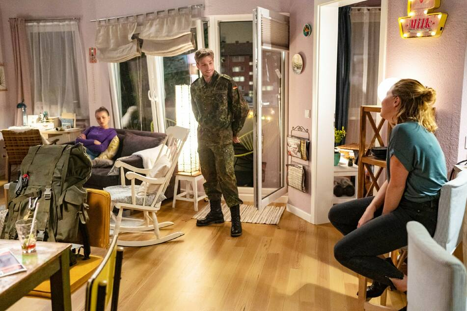 """Die RTL-Serie """"Alles was zählt"""" bekommt Zuwachs - Dominik Flade spielt ab sofort den Soldaten """"Yannick Ziegler""""."""