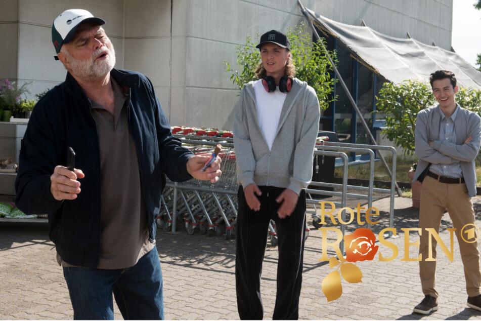 Rote Rosen: Der bekiffte Onkel Walter sorgt kräftig für Lacher in Lüneburg.