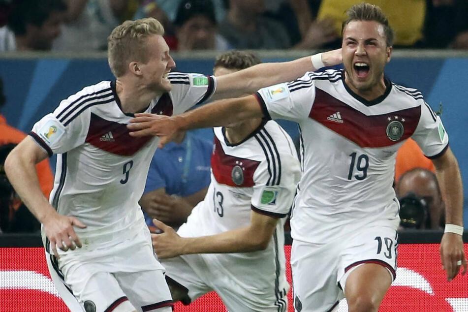 2014 schoss Mario Götze die deutsche Fußball-Nationalmannschaft in der Verlängerung gegen Argentinien zu Titel.