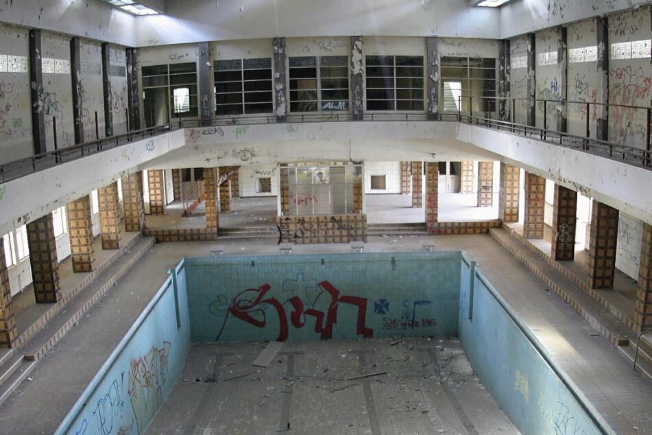 Ob hier wohl jemals wieder geschwommen wird?