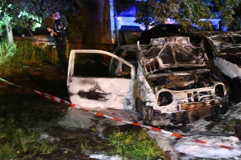 Brennende Autos in Magdeburg: Polizei geht von Straftat aus