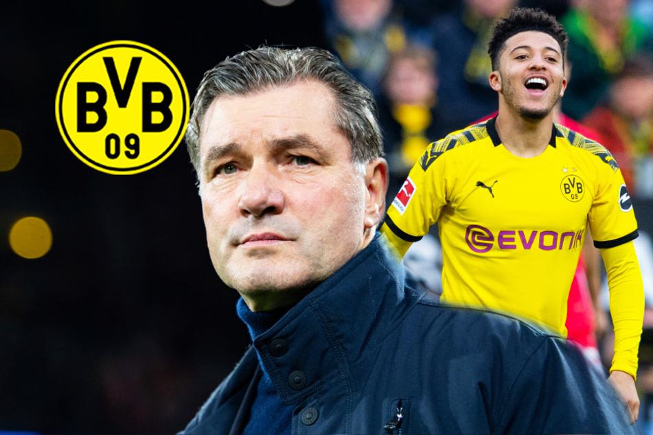 BVB-Sportdirektor Zorc äußert sich zu Transfer-Gerüchten um Jadon Sancho!