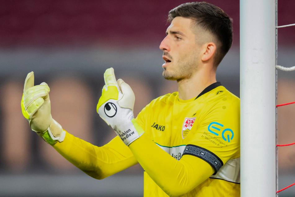 Fabian Bredlow (26) könnte zumindest im DFB-Pokal beim VfB zwischen den Pfosten stehen.