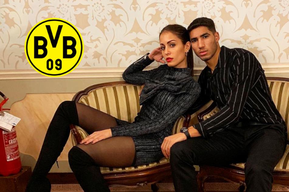 Traumpaar: BVB-Star Achraf Hakimi mit 12 Jahre älterer Schauspielerin zusammen!