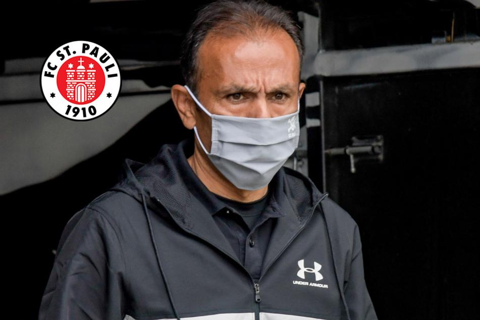 """St. Pauli-Coach Luhukay: """"Beschäftige mich nicht mit Klassenerhalt"""""""