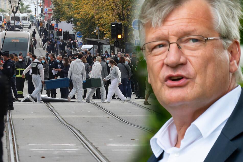 Islamistischer Terror in Nizza: AfD-Meuthen sieht uns jetzt alle in Gefahr!