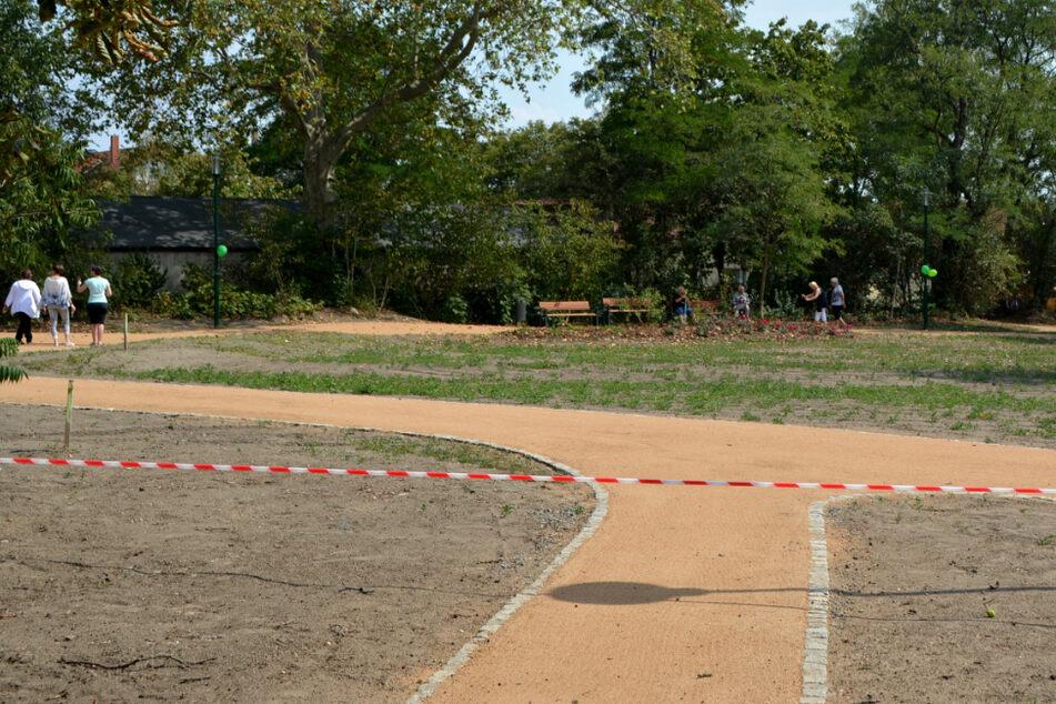 Neuer Park mitten in der Dürrezeit: In Leipzig wächst eine grüne Oase für alle heran