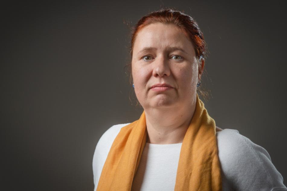 """Kathleen Kuhfuß (41, Grüne) hatte vorgeschlagen, dass bei der Kontaktregel """"ein Hausstand plus eine weitere Person"""" Kinder nicht mitgezählt werden. Mit Erfolg."""