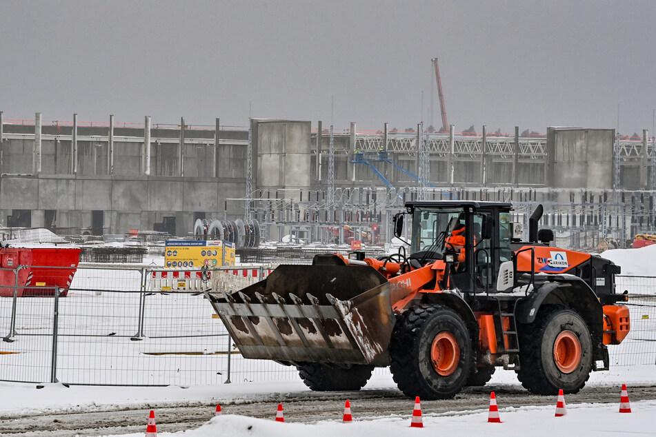 Der Bau der Elektroautofabrik soll im Juli beginnen.
