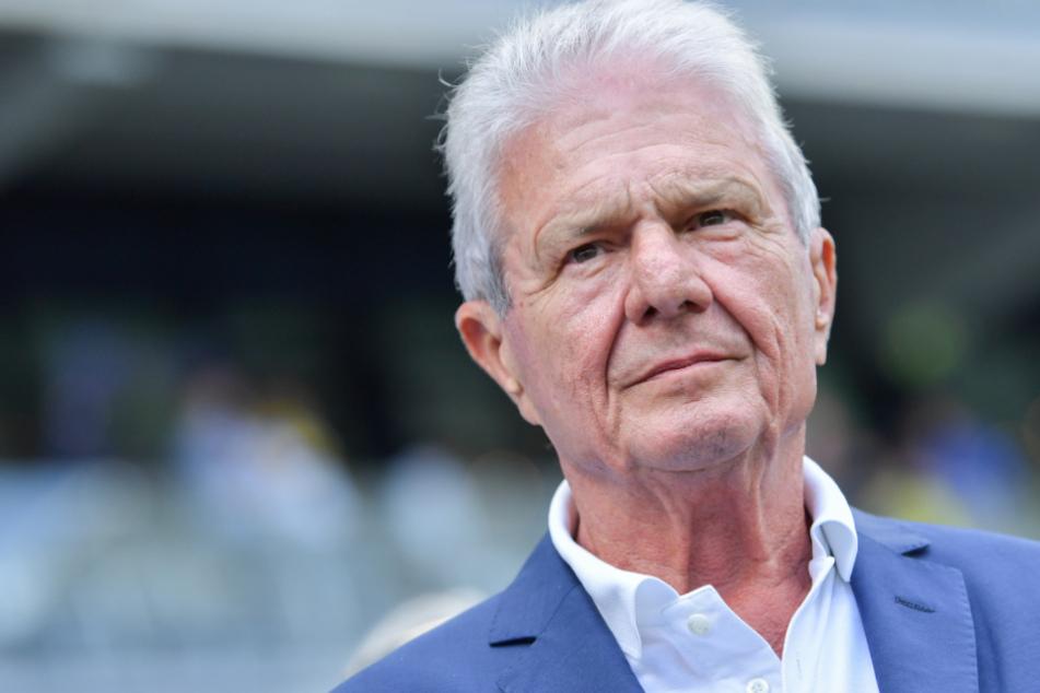 Dietmar Hopp (80) ist der Mäzen des Fußball-Bundesligisten TSG 1899 Hoffenheim.