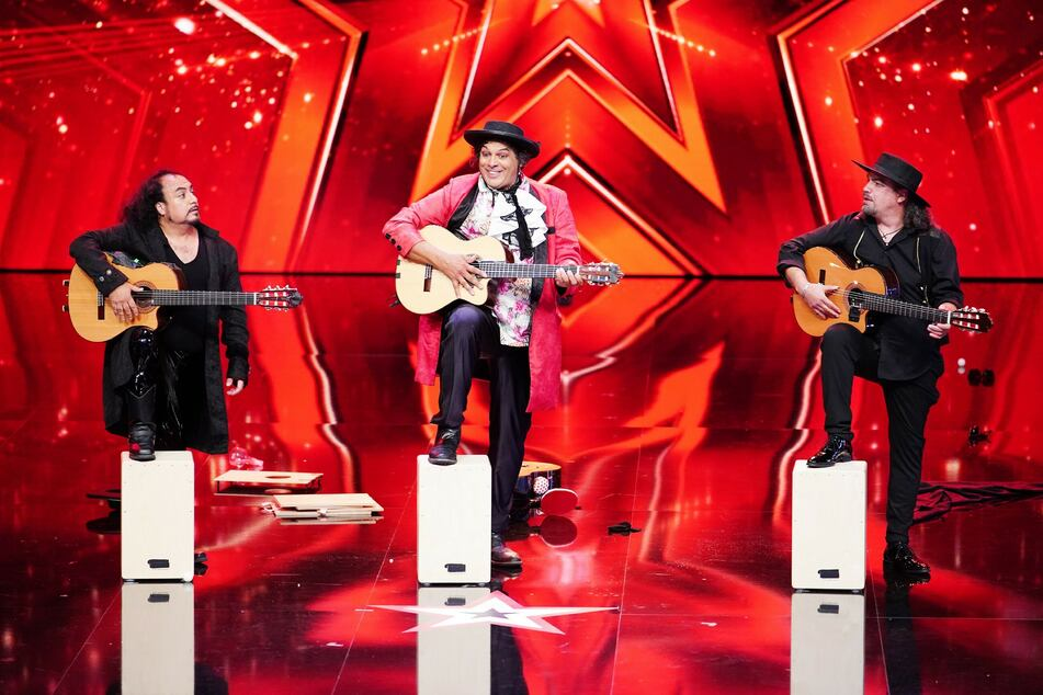 """Mit der Flamenco-Comedy-Show von Paul Morocco & """"Olé!"""" wird es lustig beim """"Supertalent""""."""