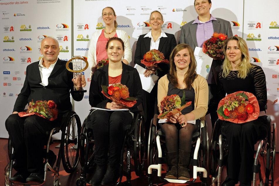 """Rollstuhl-Basketballerinnen sind """"Para-Mannschaft des Jahrzehnts"""""""